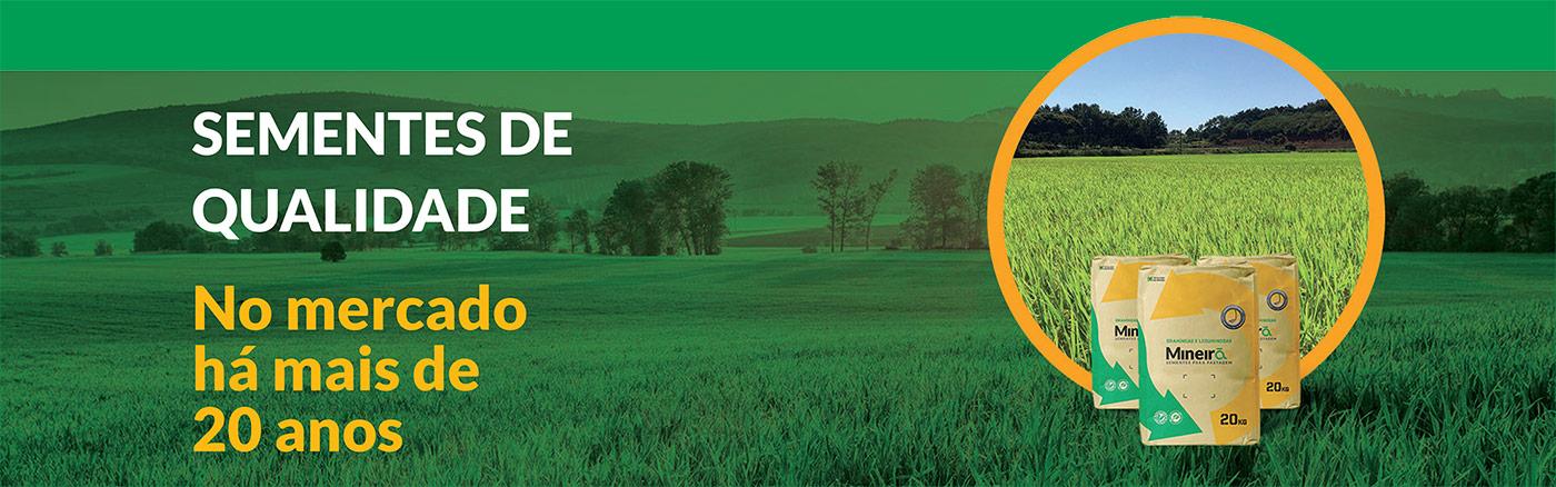 Mineirão Sementes para Pastagem está expandindo suas produções para melhor atender as demandas do agronegócio do Brasil! Invista em sementes de qualidade e segurança. Conte com a Mineirão Sementes para Pastagem e faça do seu plantio algo extraordinário.